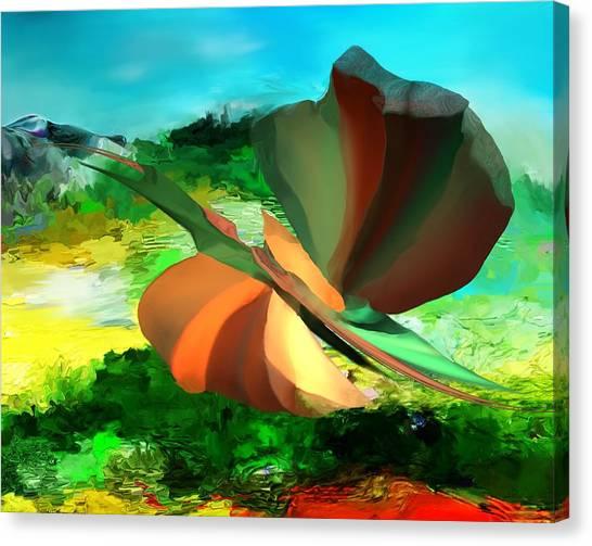 Canvas Print - Bizzro 1 by David Lane