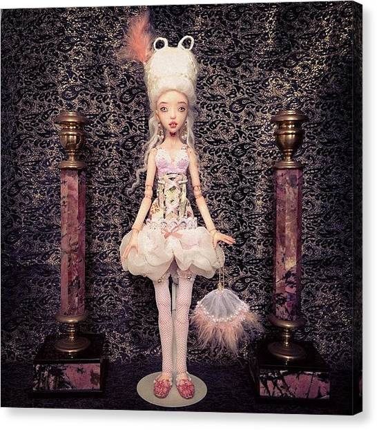 Baroque Art Canvas Print - #bjd #art #annagechtman #doll #dolls by Anna Gechtman