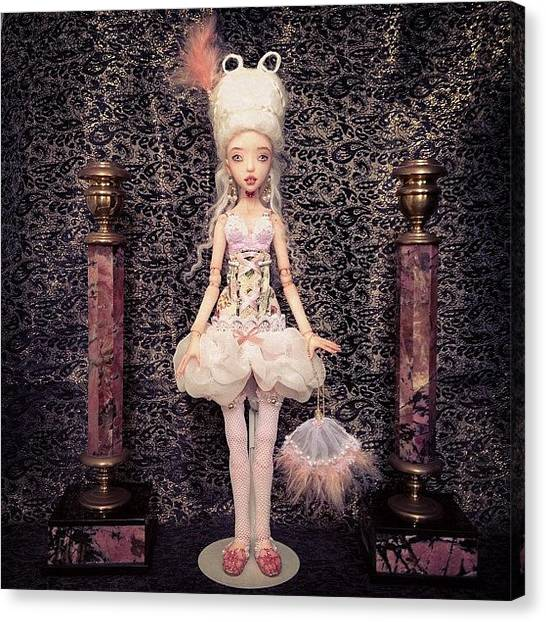 Baroque Art Canvas Print - #bjd #art #doll #dozdolls by Anna Gechtman
