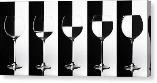 Black & White Canvas Print by Doris Reindl