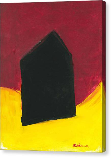 Black Arthouse Canvas Print