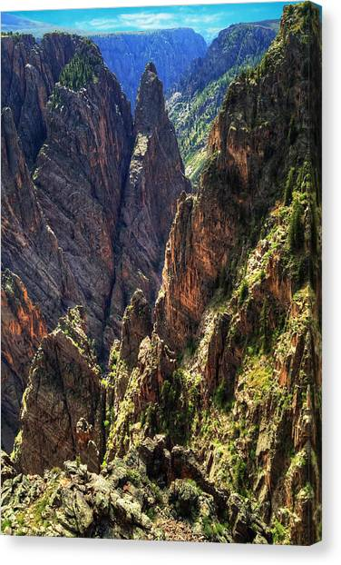 Black Canyon Of The Gunnison National Park I Canvas Print
