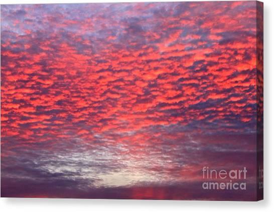 Black Friday Sunrise Canvas Print