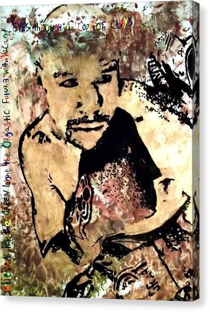 Floyd Mayweather Canvas Print - Black Gatsby  by Ugochukwu Onyewuchi