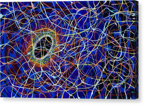 Black Hole Canvas Print by Patrick OLeary