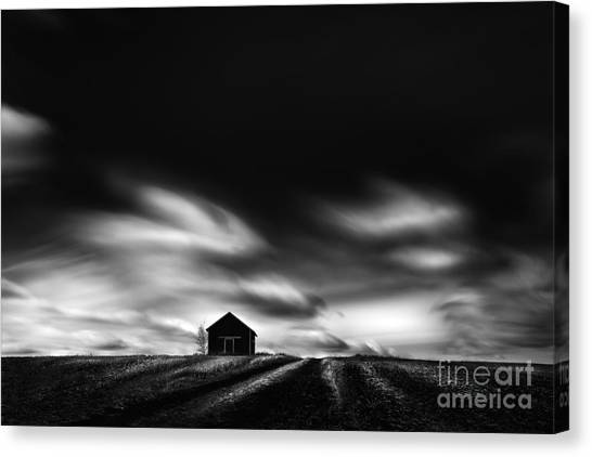 Black House Canvas Print