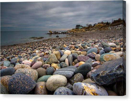 Black Rock Beach Canvas Print