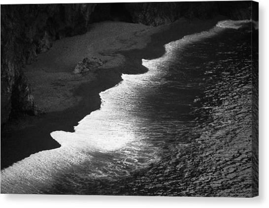 Black Sands Canvas Print