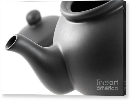 Black Teapot Canvas Print