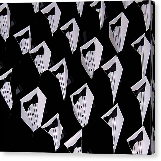 Black Tie Affair Canvas Print
