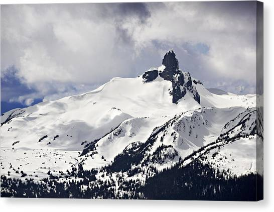 Black Tusk Peak Canvas Print