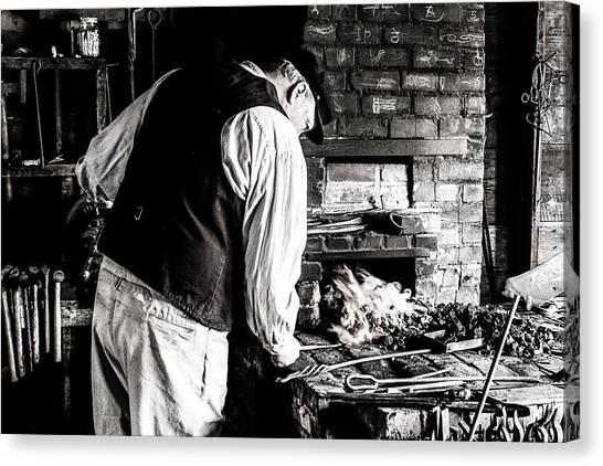 Blacksmith Canvas Print