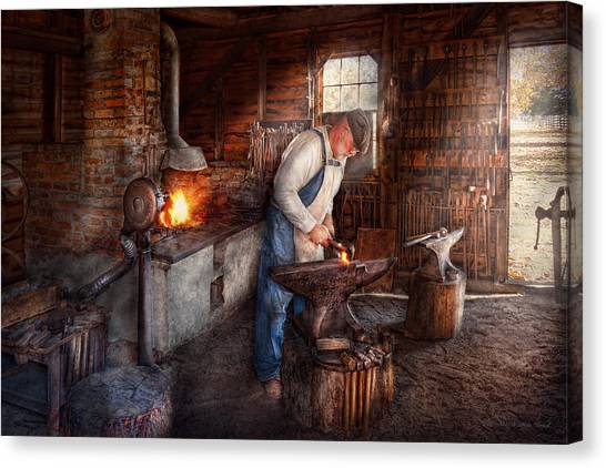 Blacksmith - The Smith Canvas Print
