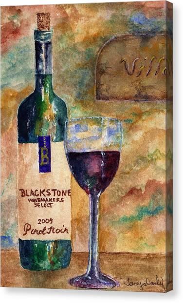 Blackstone Wine Canvas Print