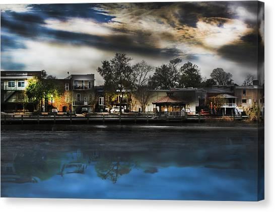 Blackwater River Canvas Print