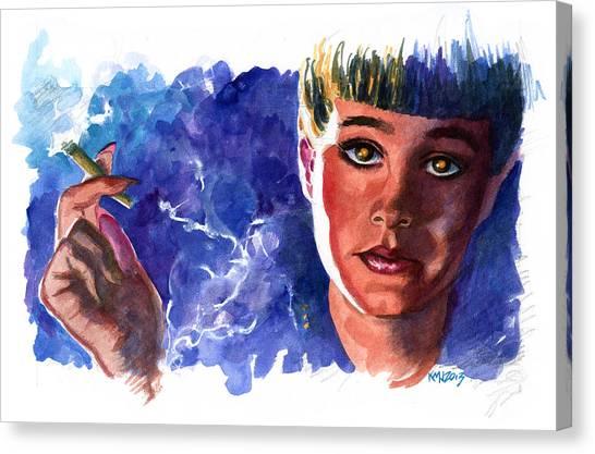 Bladerunner Canvas Print - Bladerunner Rachael by Ken Meyer