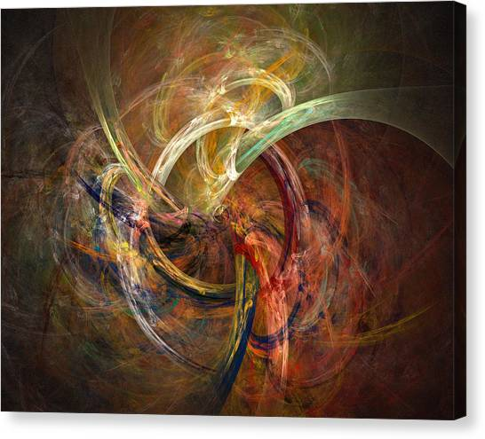 Fractal Canvas Print - Blagora by David April