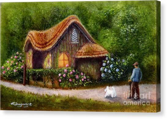 Blaise Rustic Cottage Canvas Print