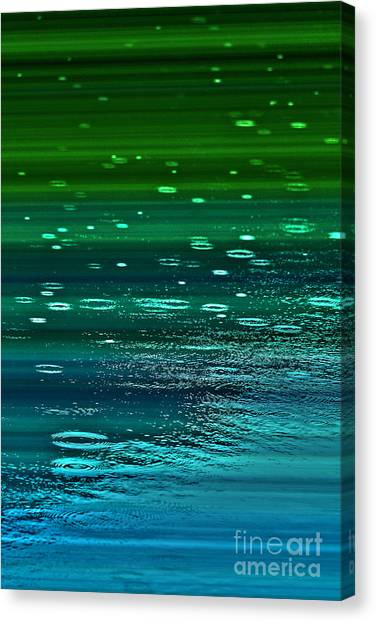 Blame It On The Rain Canvas Print