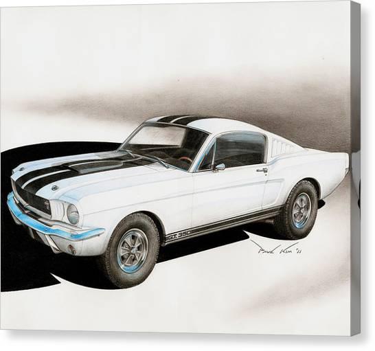 Blanco Shelby Canvas Print by Paul Kim