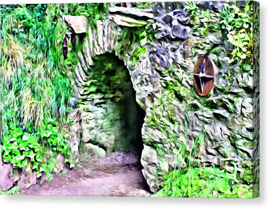 Blarney Cave Canvas Print