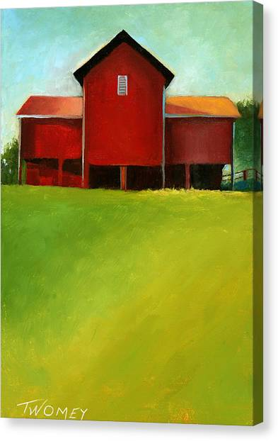 Bleak House Barn 2 Canvas Print