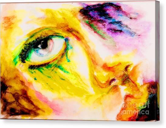 Surf Lifestyle Canvas Print - Bleeding Eyes by Steven  Christian
