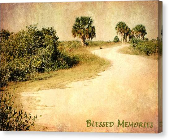 Blessed Memories Canvas Print