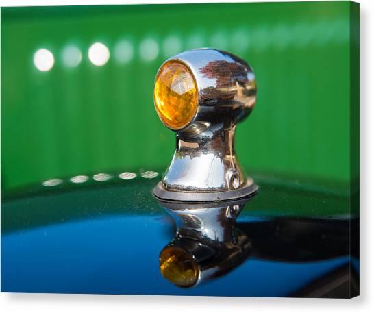 Turn Signals Canvas Print - Blinker Light Citroen Typ C Vintage Car by Matthias Hauser