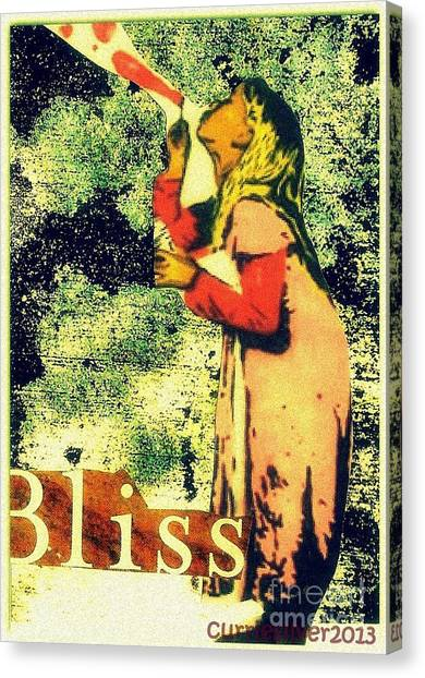Bliss Canvas Print by Currie Silver