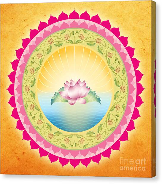 Bliss Mandala Canvas Print by Soulscapes - Healing Art