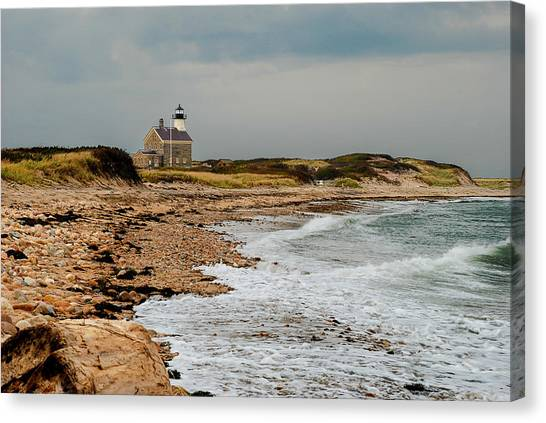 Block Island North Lighthouse  Canvas Print