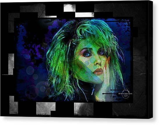 Blondie - Debbie Harry Canvas Print