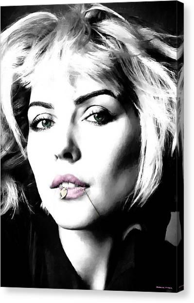 Blondie Large Size Portrait Canvas Print