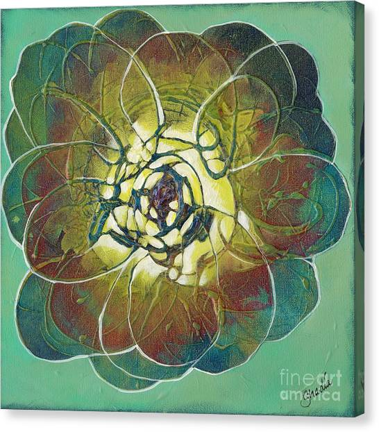 Organic Canvas Print - Bloom IIi by Shadia Derbyshire