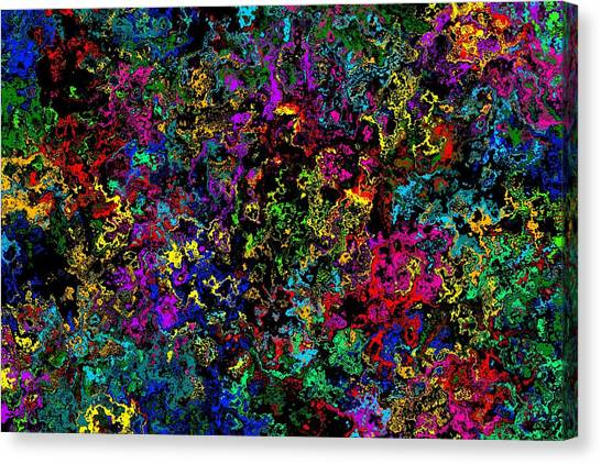 Bloop Nebula Canvas Print