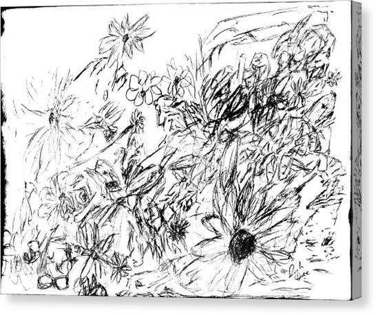 Simplistic Canvas Print - Blosse by Freta Thead