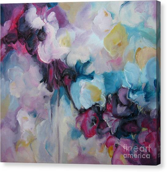 Blossoming Iv Canvas Print