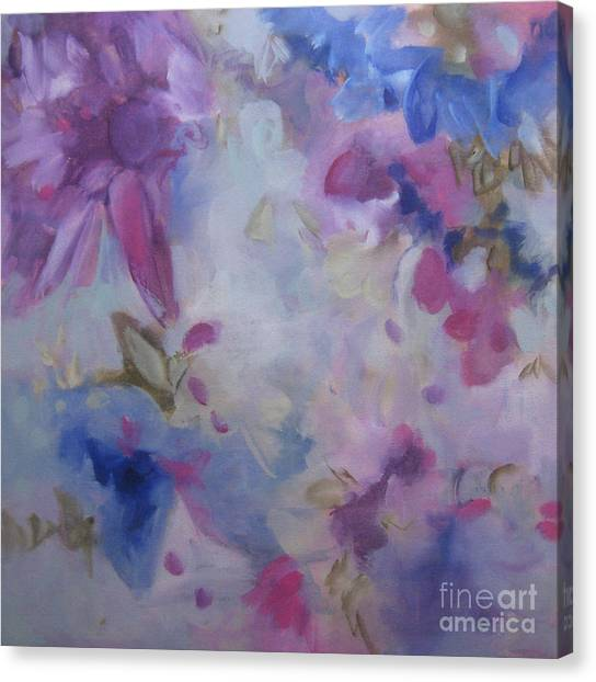 Blossoming V Canvas Print