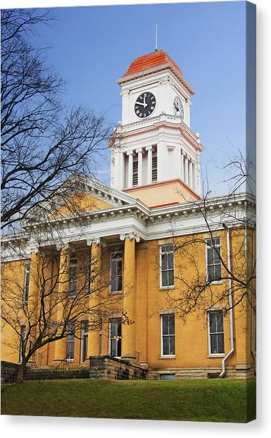 Blount County Courthouse Canvas Print