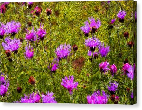 Blowin In The Wind Canvas Print