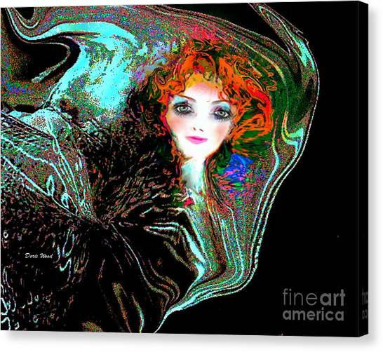 Blowing In The Wind Canvas Print by Doris Wood