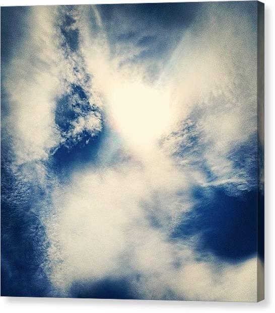 Jupiter Canvas Print - #blowingrocks #preserve #beach #blue by Kyle Kazoo