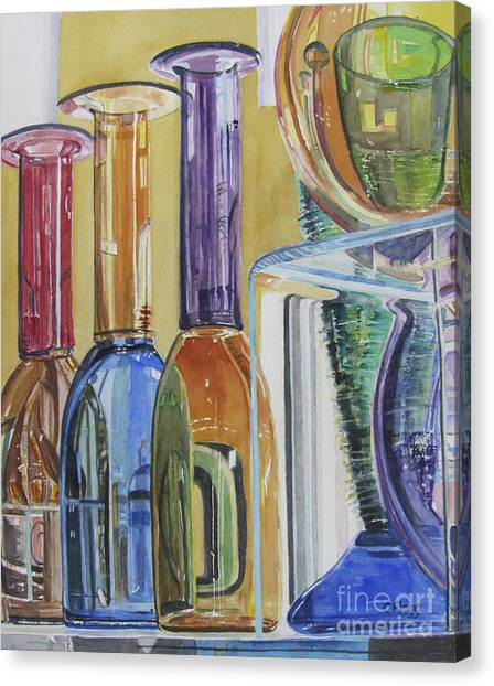 Blown Glass Canvas Print
