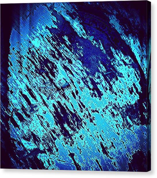 Abstract Canvas Print - Blu Abstract 3 by Jason Michael Roust