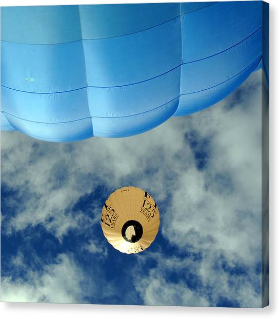 Blue Balloon Canvas Print by Stephen Richards