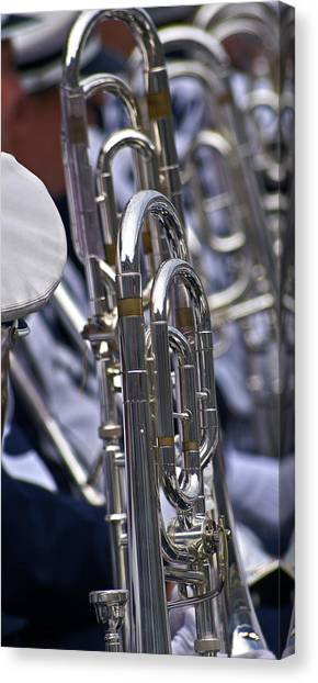 Penn State University Canvas Print - Blue Band Brass by Tom Gari Gallery-Three-Photography