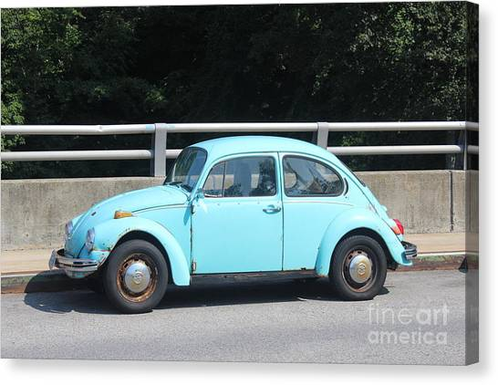 Canvas Print - Blue Beetle by Lotus
