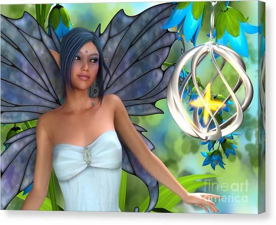 Blue Bell Magic Canvas Print