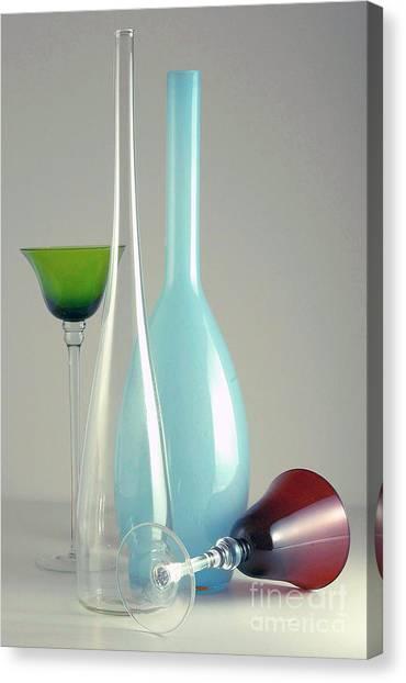 Blue Bottle #2 Canvas Print